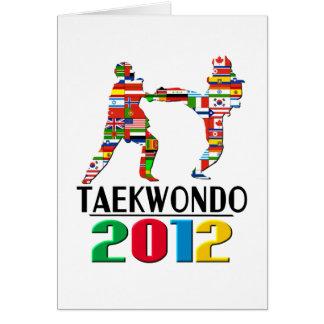 2012: Taekwondo Card