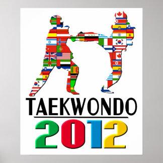 2012: Taekwondo Poster