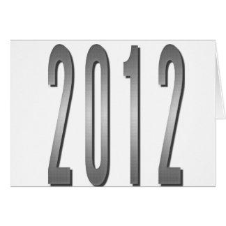 2012 TARJETA DE FELICITACIÓN
