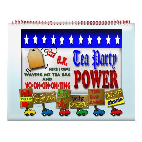 2012 Tea Party Power Calendar