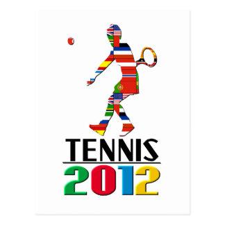 2012: Tennis Postcard