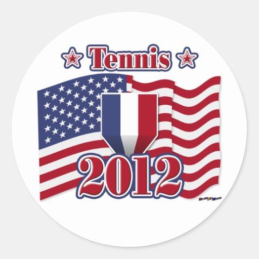 2012 Tennis Stickers
