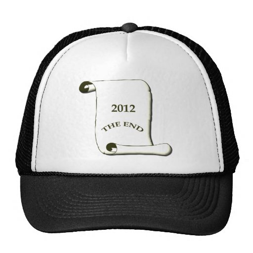 2012 The End Hats