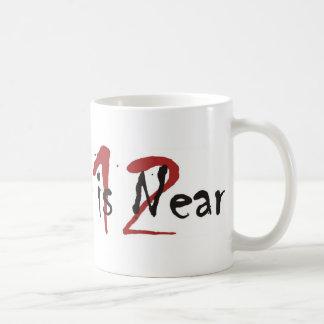 2012 The End Is Near Classic White Coffee Mug