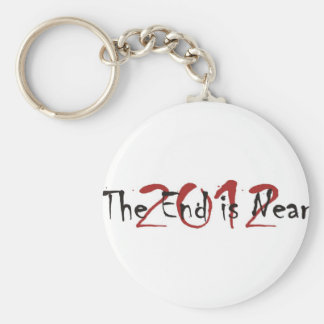 2012 The End Is Near Keychain