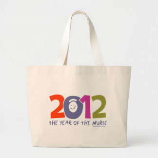 2012 - The  Year of the Nurse Canvas Bag