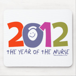 2012 - The  Year of the Nurse Mouse Pad