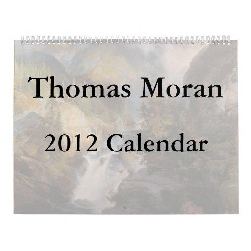 2012 Thomas Moran Calendar