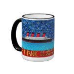 2012 titánico tazas de café