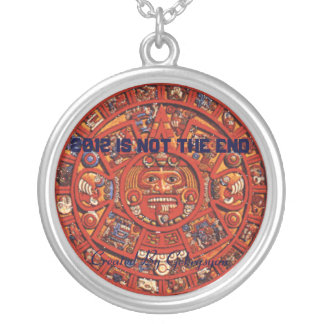 2012 TOTEM MAYA SILVER PLATED NECKLACE