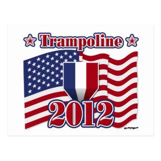 2012 Trampoline Postcard