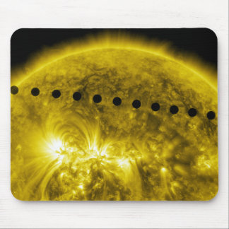 2012 Transit of Planet Venus Across the Sun Mouse Pad