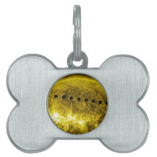 2012 Transit of Planet Venus Across the Sun Pet ID Tags