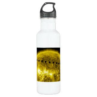 2012 Transit of Planet Venus Across the Sun 24oz Water Bottle