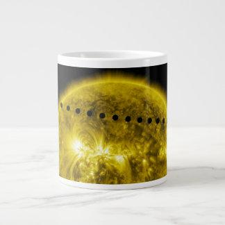 2012 Transit of Planet Venus Across the Sun Jumbo Mugs