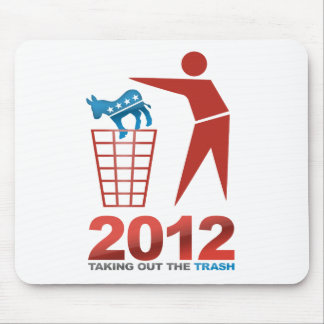 2012 Trash Dems Mouse Pad