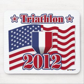 2012 Triathlon Mousepads