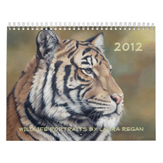 2012 Twelve Month Wildlife Art Calendar