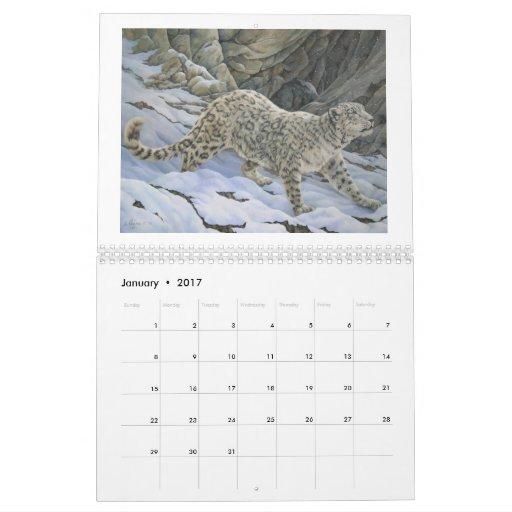 2012 Twelve Month Wildlife Art Calendar