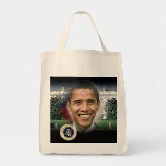 2012 US President Barack Obama Grocery Tote Bag