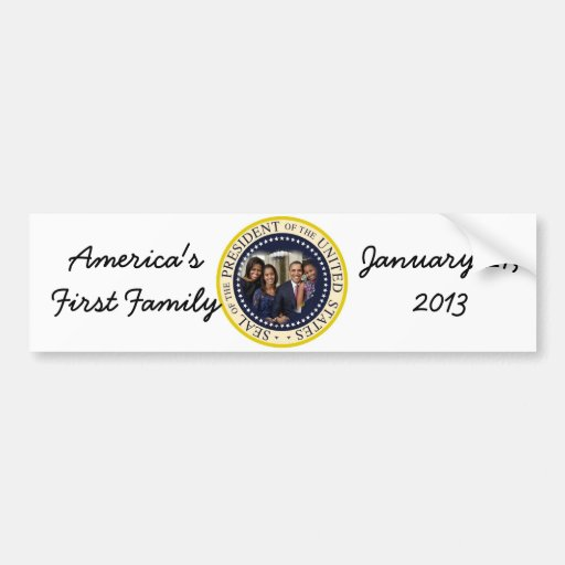 2012 US President Barack Obama Bumper Stickers