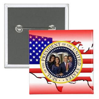 2012 US President Barack Obama Pinback Button