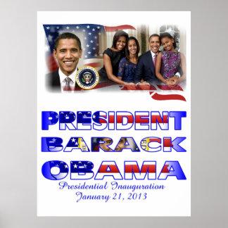2012 US President Barack Obama re-Election Poster