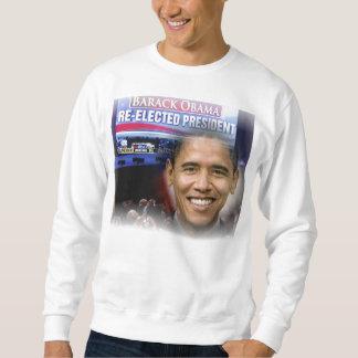 2012 US President Barack Obama re-Election Sweatshirt