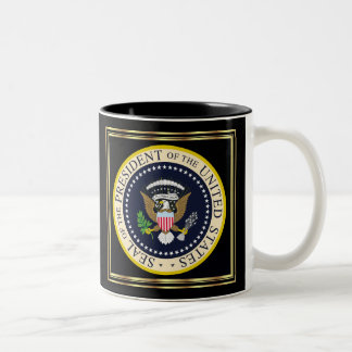 2012 US President Barack Obama re-Election Two-Tone Coffee Mug