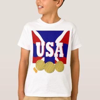 2012 USA Sports Gold Medal KidsT-shirt Gift T-Shirt