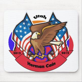 2012 Utah for Herman Cain Mouse Pad