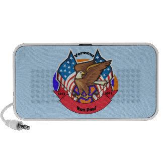 2012 Vermont for Ron Paul iPod Speaker