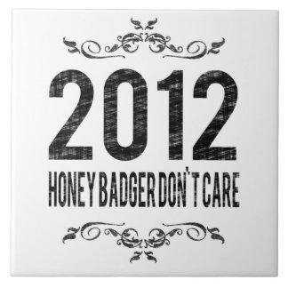 2012 Vintage Honey Badger Don't Care Tiles