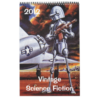 2012 Vintage Science Fiction Calendars