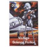 2012 Vintage Science Fiction Calendars