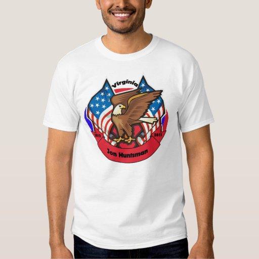 2012 Virginia for Jon Huntsman Shirt