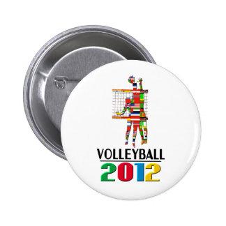 2012: Voleibol Pins