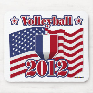 2012 Volleyball Mouse Pads