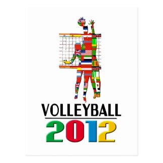 2012: Volleyball Postcard