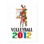 2012: Volleyball Postcards