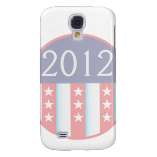 2012 Vote Election Round Seal Red Blue faded Galaxy S4 Case