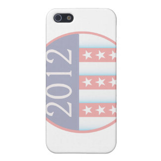 2012 Vote Election Round Seal Red Blue faded Case For iPhone 5