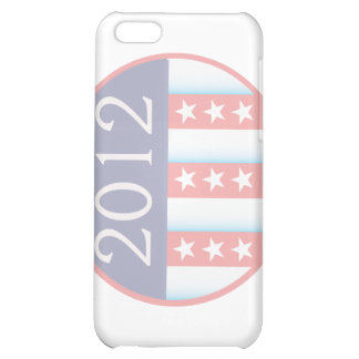 2012 Vote Election Round Seal Red Blue faded Case For iPhone 5C