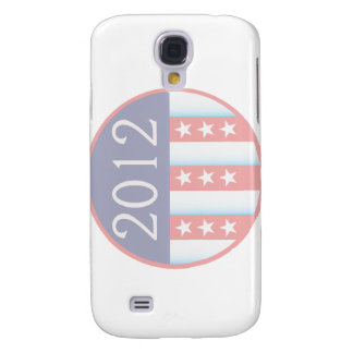 2012 Vote Election Round Seal Red Blue faded Samsung S4 Case