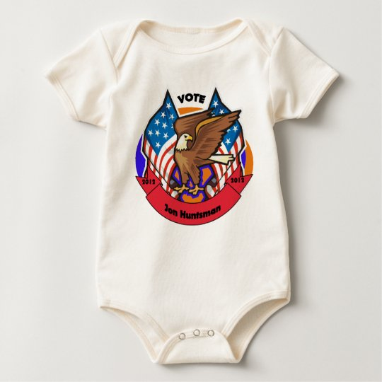 2012 Vote for Jon Huntsman Baby Bodysuit