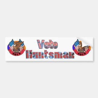 2012 Vote for Jon Huntsman Bumper Sticker