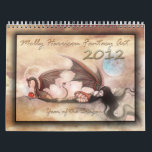 """2012 Wall Calendar Dragons and Fairies<br><div class=""""desc"""">This &quot;Year of the Dragon&quot; fantasy art calendar features 12 of my dragon images (six of these images have not been released in a calendar before!)  This calendar would be the perfect gift for anyone who enjoys dragon art as well as fairy art.</div>"""