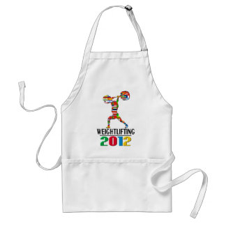 2012: Weightlifting Adult Apron