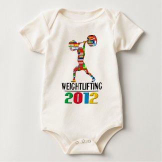 2012: Weightlifting Baby Bodysuit