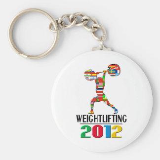 2012 Weightlifting Keychains